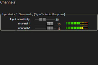 Televic TReX two channel recording (TelevicRecordingMatrix - приложение записи)