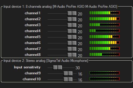 Televic TReX multi channel recording (TelevicRecordingMatrix - приложение записи)