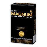 Trojan Magnum Lubricated Condoms