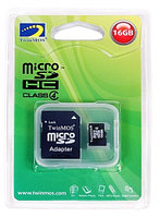 Карты памяти Micro SD 4g  Retail+adapter
