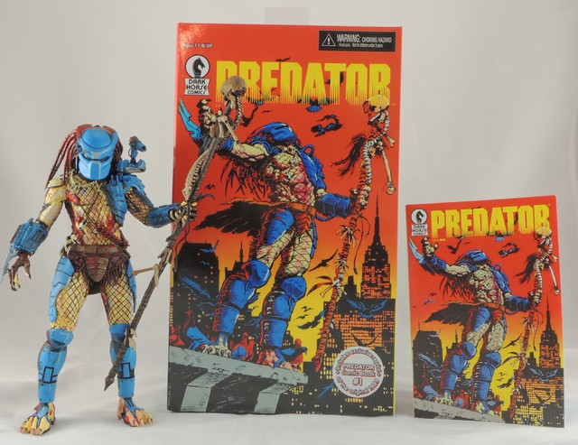 NECA Predator ― 25th Anniversary Dark Horse Comic Book Action Figure