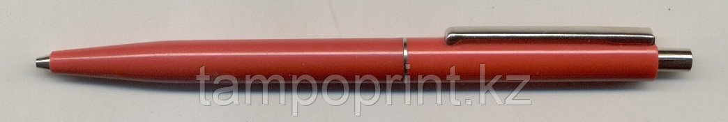 Ручка 07496  Solid  RED +  Metal clip