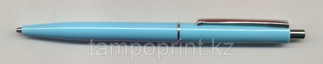 Ручка 07496  Solid SKY BLUE +  Metal clip