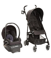 Maxi-Cosi Kaia Mico Nxt Travel System Stroller - Total Black