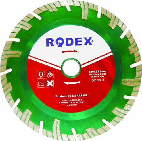 Алмазные диски RODEX Turbo RSS230x22.2mm