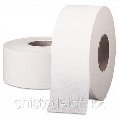 Бумага туалетная Jumbo ELITЕ белая 100% целлюлоза, 2-слойная 150 м.