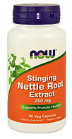 Экстрат крапивы NOW Foods Stinging Nettle Root Extract 250 mg (90 капсул)