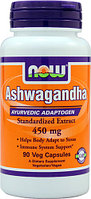 NOW Ashwagandha 450 mg (90 капсул)