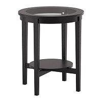 Придиванный столик МАЛМСТА черно-коричневый ИКЕА, IKEA , фото 1