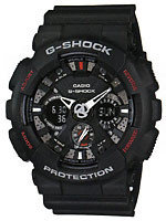 Casio G-shock GA-120-1A, фото 1