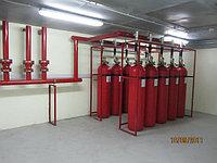 Монтаж систем газового пожаротушения
