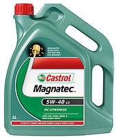 Синтетическое моторное масло Castrol Magnatec 5W-40 C3 4литрa
