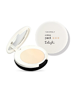 TONY MOLY DELIGHT COTTON 02тон BEIGE ПУДРА