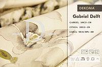 Портьерная ткань для штор, хлопок с цветами, с купонами