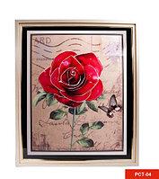 Картина со стразами «Букет цветов» (PCT-04)