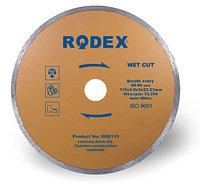 Алмазный диск по кафелю Rodex 115x1,8x22,2