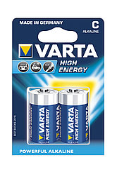 Батарейка Varta High Energy (С) LR14/343 BL2