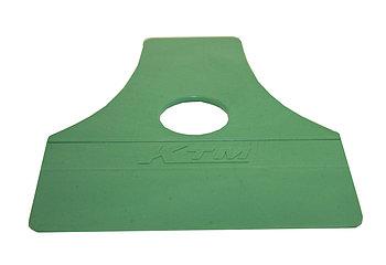 Ракель пластиковый зеленый