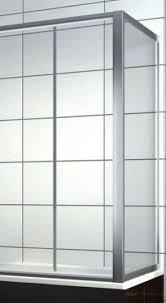 Боковая шторка на прямоугольную ванну хром/бел. 75*140, фото 2