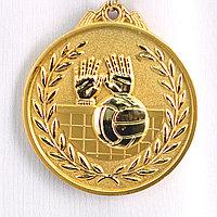 Медаль рельефная ВОЛЕЙБОЛ (золото), фото 1
