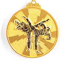 Медаль рельефная ТАЭКВОНДО (золото), фото 1