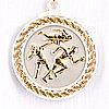 Медаль рельефная ЛЕГКАЯ АТЛЕТИКА (серебро)