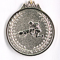 Медаль рельефная БОРЬБА (серебро), фото 1