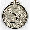 Медаль СПОРТИВНАЯ ГИМНАСТИКА (серебро)