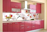 Кухонный фартук из стекла (Скинали) При заказе кухни