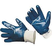 Перчатки нитриловые (манжет-резинка, полное покрытие)