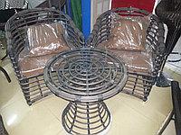 Комплект столик + 2 кресла, фото 1