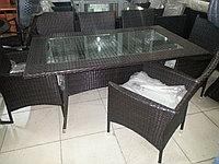 Комплект стол + 6 кресел