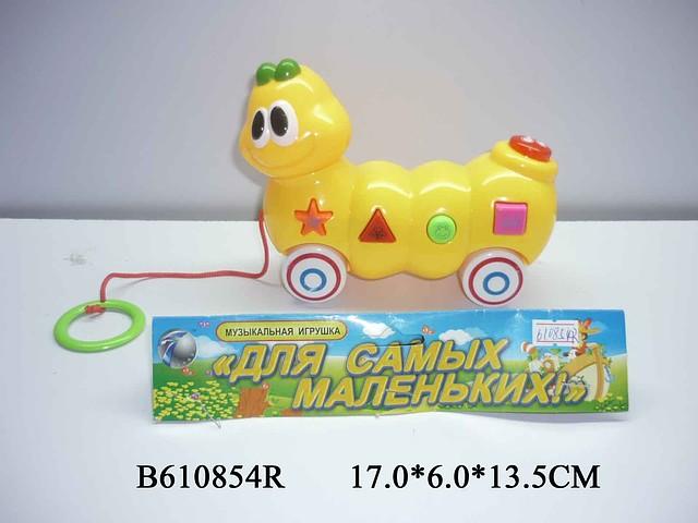 """Каталка """"Для самых маленьких"""" B610854R Торговая марка: TONGDE."""