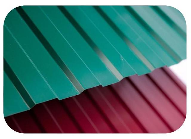 Профнастил и лист с полимерным покрытием
