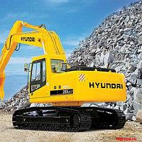 Запчасти на экскаватор Hyundai (Хундай) R250LC-7, фото 1