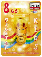 USB флэш-накопитель Mirex DRAGON YELLOW 8GB (ecopack)