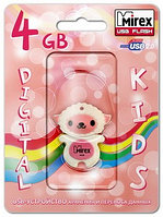 USB флэш-накопитель Mirex SHEEP PINK 4GB (ecopack)