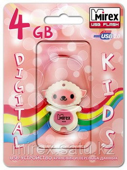USB флэш-накопитель Mirex SHEEP PINK 4GB (ecopack) - Mirex в Алматинской области