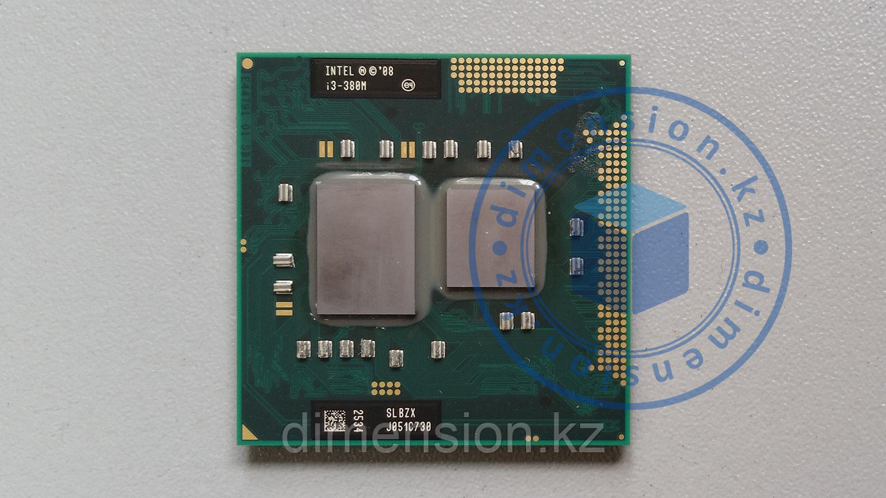 Процессор CPU для ноутбука Intel Core i3-380M, 3M Cache, 2.53 GHz