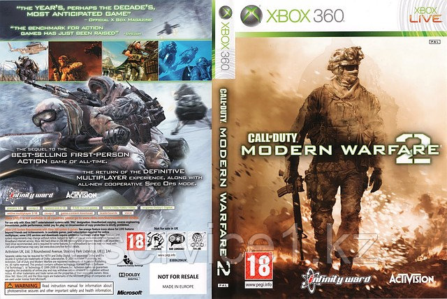 Call of Duty:Modern Warfare 2 - ИП «GService» в Алматы