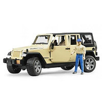 Внедорожник jeep wrangler unlimited rubicon 02-525 Bruder