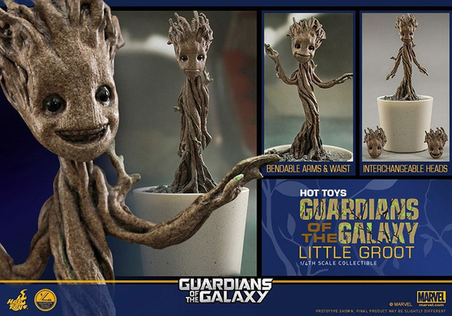 Hot Toys Little Groot ― Guardians of the Galaxy