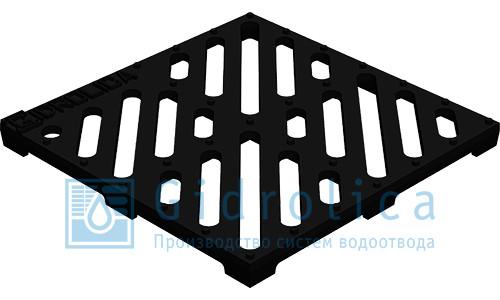 Решетка дождеприемная чугунная 285х285х22мм