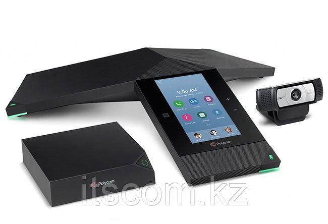 Система видеоконференцсвязи Polycom RealPresence Trio 8800 Collaboration Kit (Partner Premier) - Ай Ти Эс Ком в Алматы