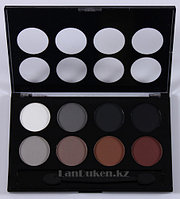 Тени для век Meis Eyeshadow professional make up, матовые тени, тени для Smoky eyes (смоки айс) 04