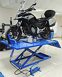 Подъемник для мото и квадроциклов с пневмоприводом и управлением ногой, г/п 680 кг NORDBERG N4M4, фото 2