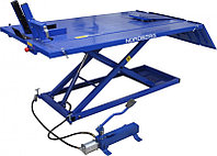 Подъемник для мото и квадроциклов с пневмоприводом и управлением ногой, г/п 680 кг NORDBERG N4M4, фото 1