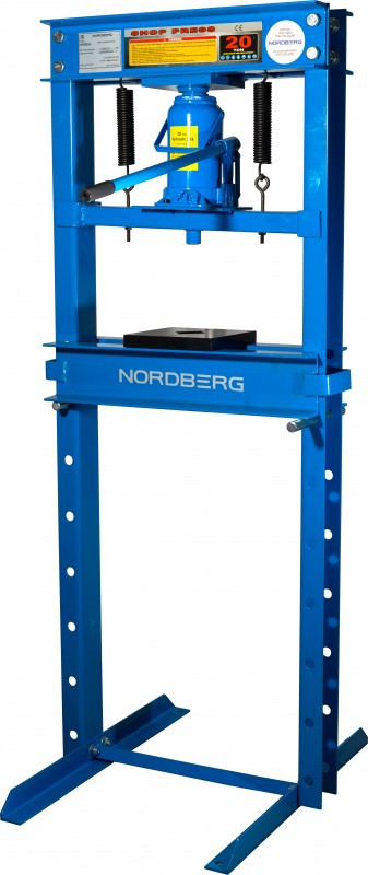 Пресс, силовое устройство - домкрат, усилие 20 тонн NORDBERG N3620JL