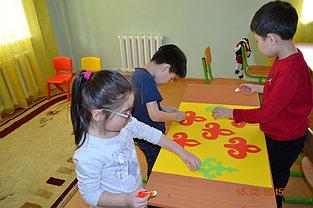 """Занятия в группах по """"Подготовке к школе"""" на казахском и русском языке, полный день и кратковременное пребывание детей. -1"""