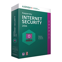 Антивирус Kaspersky Internet Security 2016 (2 ПК / 1 год)